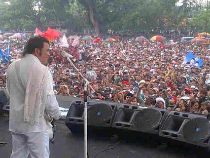 Rhoma Irama di Konser Kampanye PPP