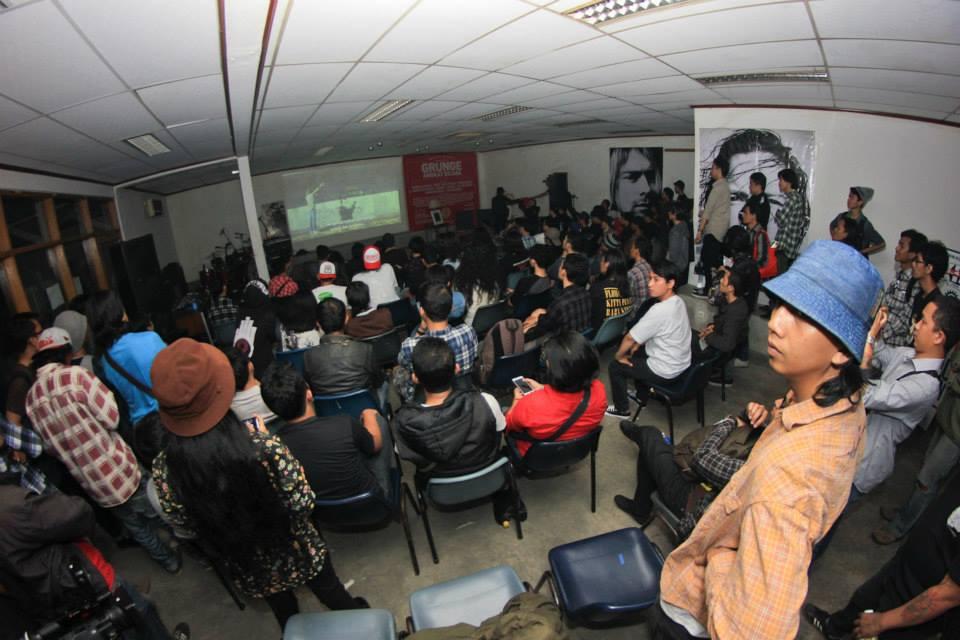 """Event """"Grunge Angkat Bicara"""" (foto oleh Adi Tamtomo)"""