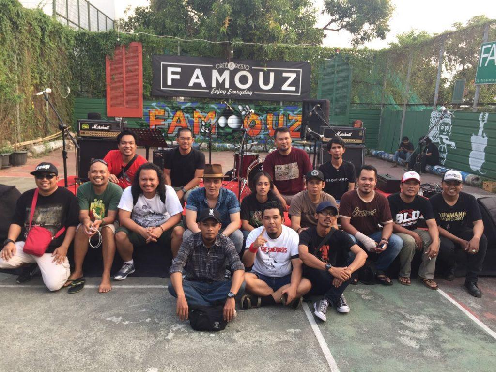 Soundcheck (foto oleh Denny Andriyana)
