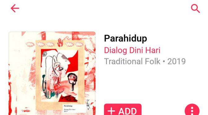 Album Terbaru Dialog Dini Hari: Parahidup (2019)