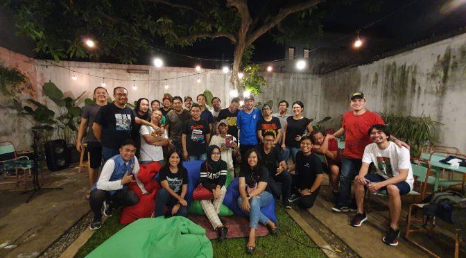 Pearl Jam Indonesia di Kedai Mantap Djiwa